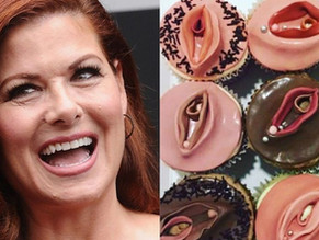 Anti-Trump Actress Triggers Transgenders With 'Vagina Cupcakes'