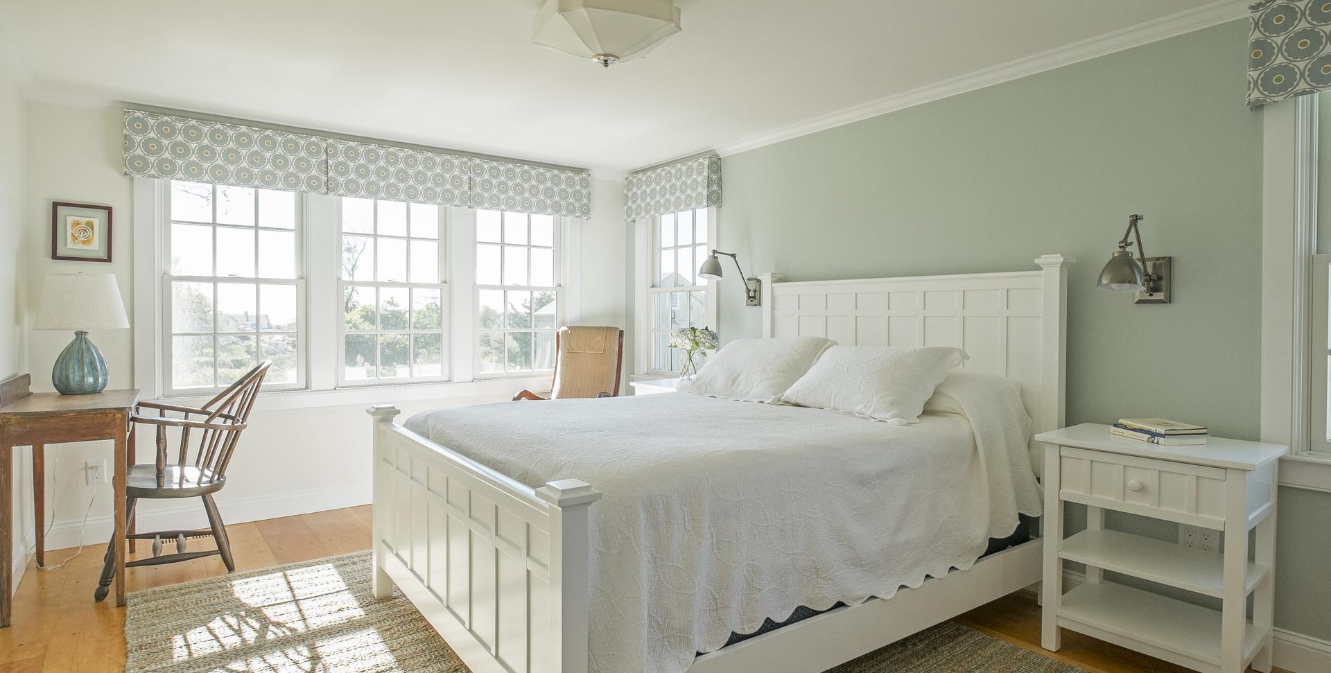 Old Village, Chatham,MA Historic Preservation Remodel, Chatham bedroom renovation