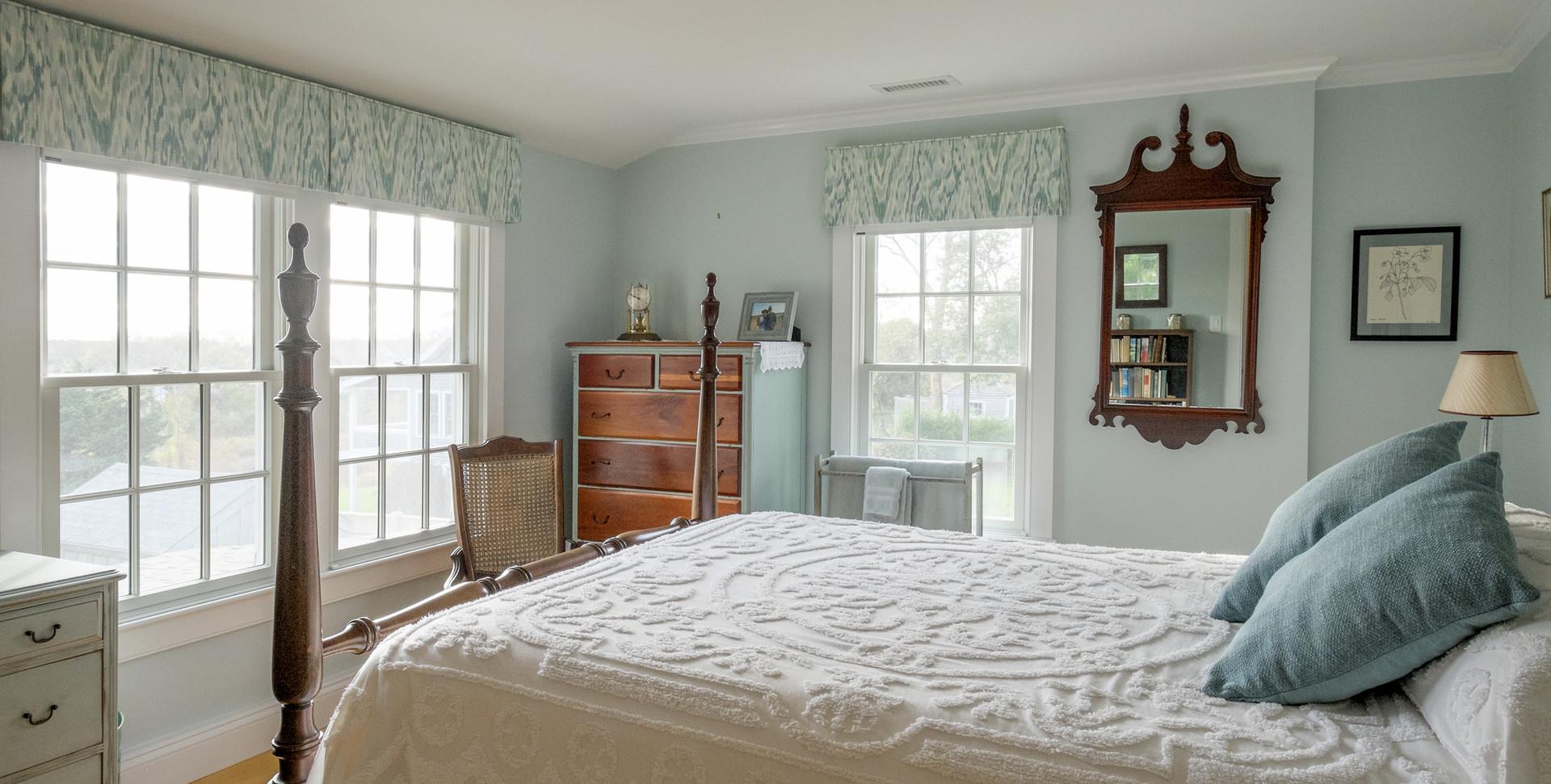 Old Village, Chatham,MA Historic Preservation Remodel, Chatham bedroom remodel