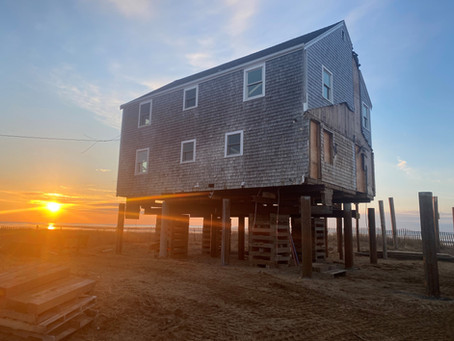 Why We Lift Houses: Sunken Meadow Beach Project