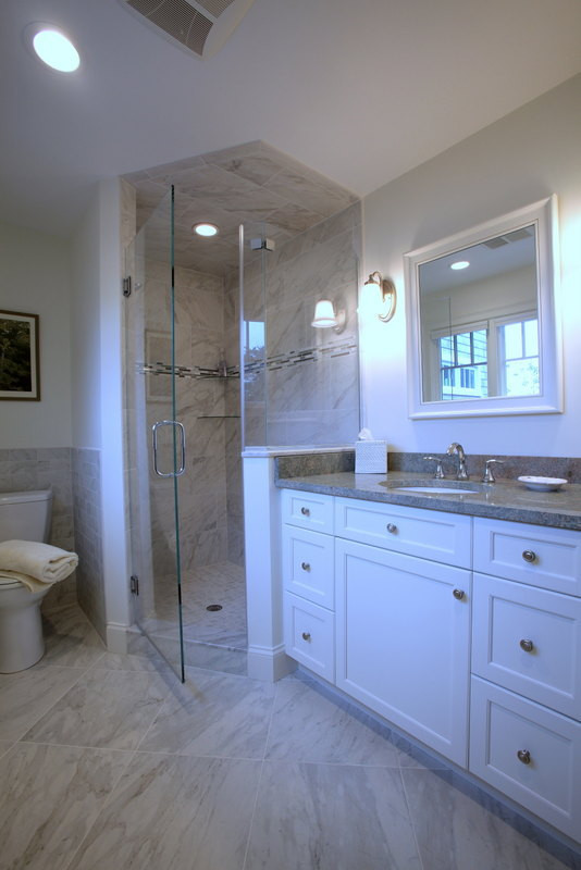 Ryders Cove, North Chatham Cape Cod Home Renovation, Bathroom Renovation and Shower