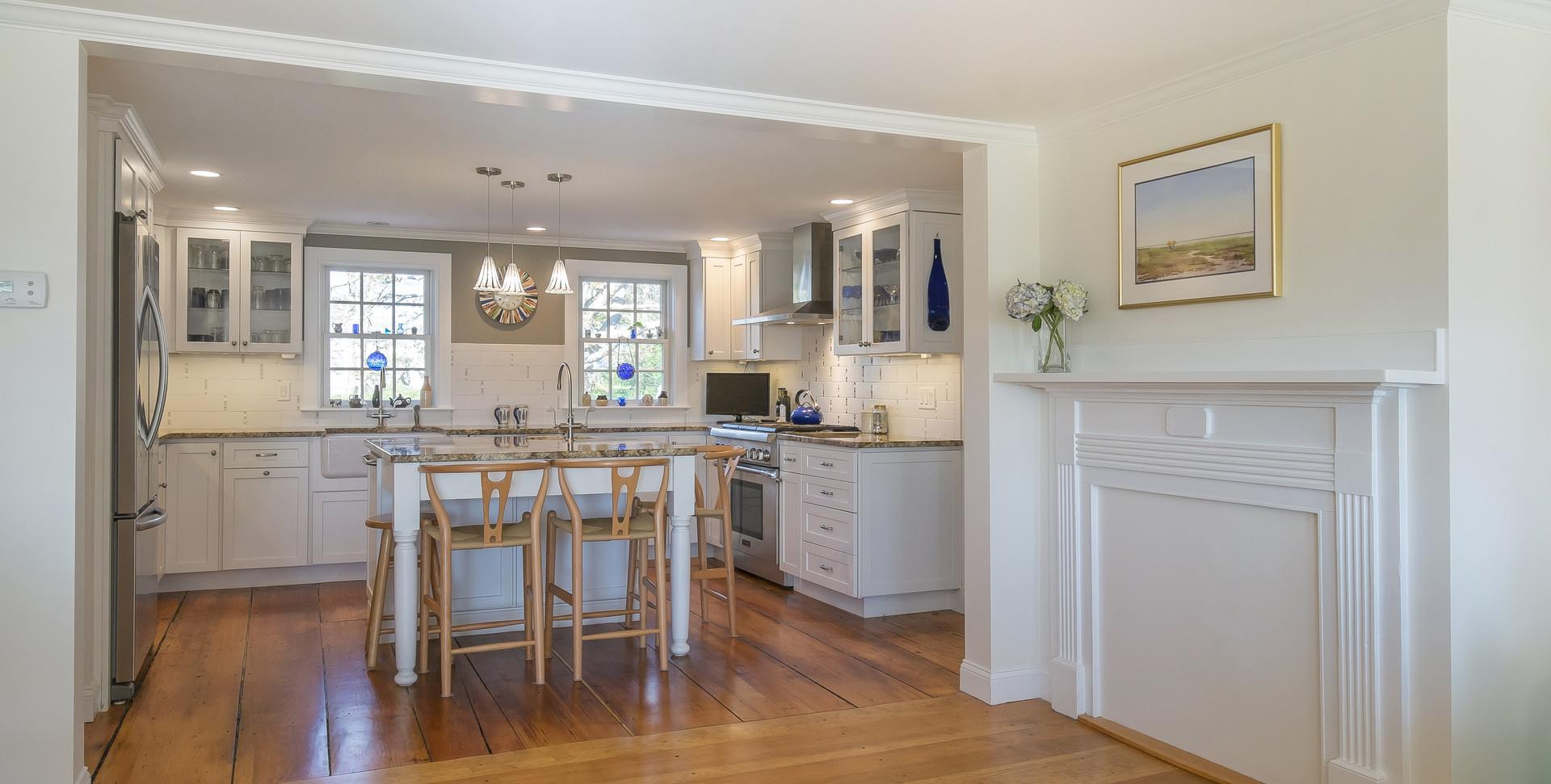 Old Village, Chatham,MA Historic Preservation Remodel, Kitchen remodel
