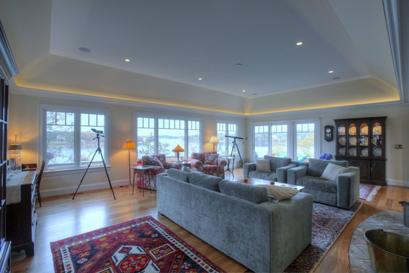 Ryders Cove, North Chatham Cape Cod Home Renovation, Cape Cod Living Room
