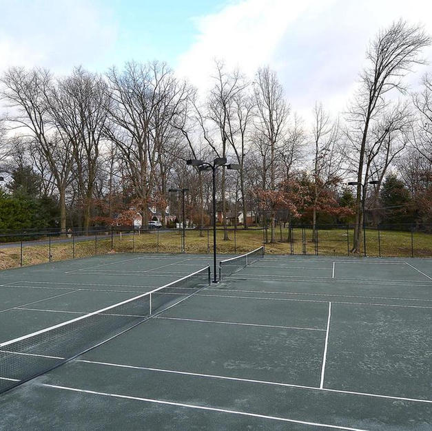 Tennis Courts at Hagerstown City Park