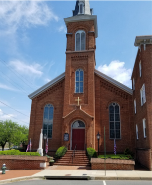 St Mary's Catholic church Hagerstown, Md