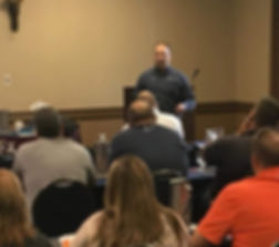 Rory Putnam, Atlantic Life Safety President at West Virginia EMS Conference teaching