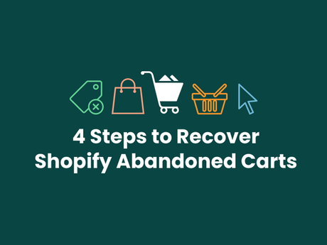 4 Steps To Recover Shopify Abandoned Carts [Infographic]