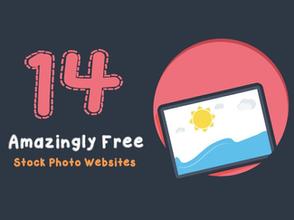14 Free Stock Photo Websites [Infographic]