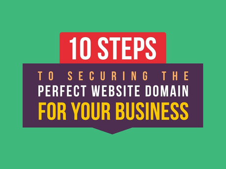 10 Steps To Securing The Perfect Website Domain For Your Business [Infographic]