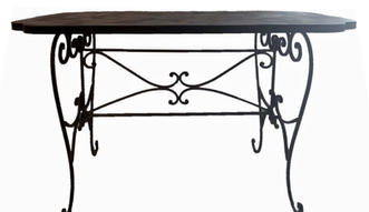 Cast-iron Signing Table