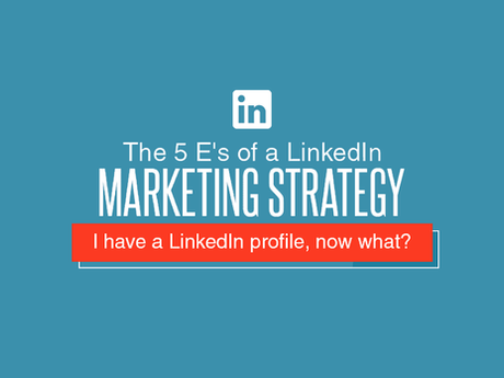 The 5 E's of a LinkedIn Marketing Strategy [Infographic]