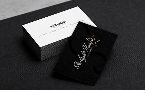 Starlight Homes Business Card Presentati