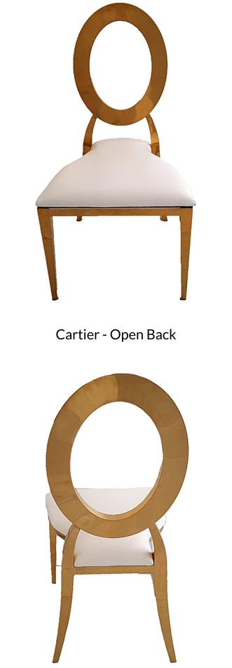 Cartier - Open Back