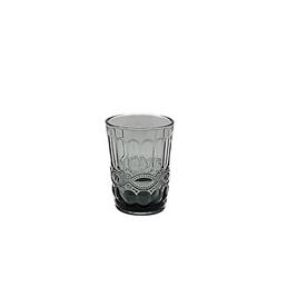 Smoke Vintage Swirls Water Glass