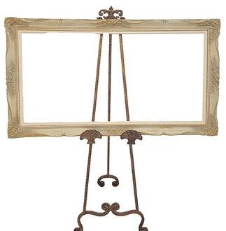 Detailed Ivory Frame
