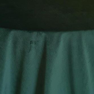 Hunter Green Plush Velvet