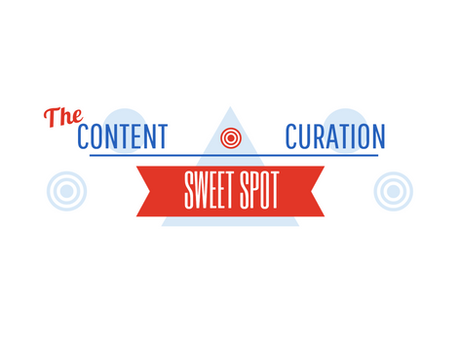 The Content Curation Sweet Spot [Infographic]