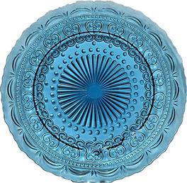 Vintage Blue Swirls