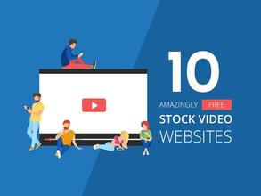 10 Amazingly Free Stock Video Websites [Infographic]