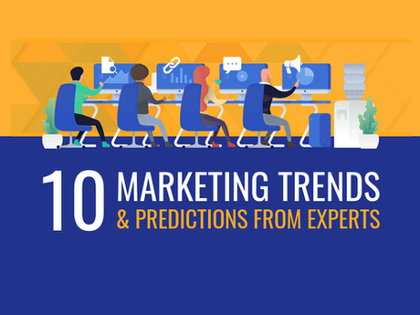 10 Marketing Trends & Predictions From Experts [Infographic]