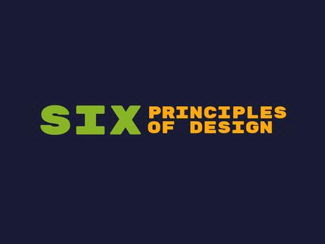 6 Principles Of Design [Infographic]
