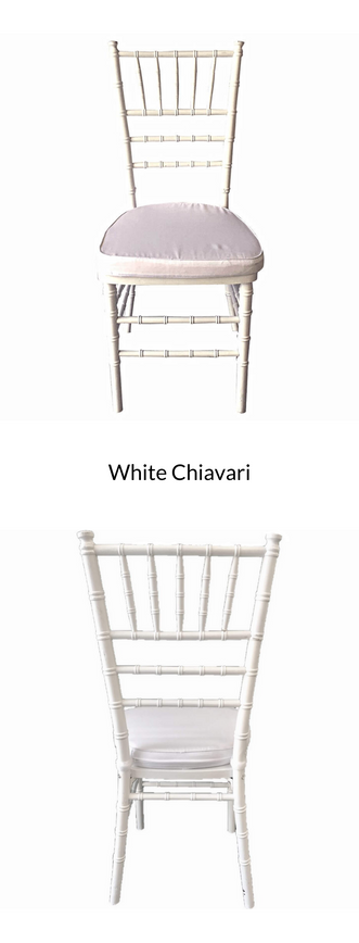 White Chiavari