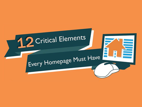 12 Critical Elements Every Homepage Should Have [Infographic]