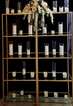 5 Tiered Candlewall