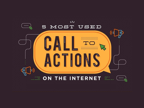 5 Most Used Call To Actions On The Internet [Infographic]