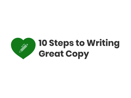 10 Steps To Writing Great Copy [Infographic]