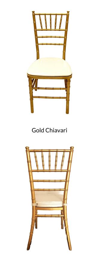 Gold Chiavari
