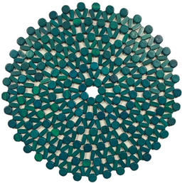 Turquoise Beaded Charger