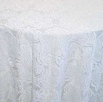 White Princess Lace Overlay