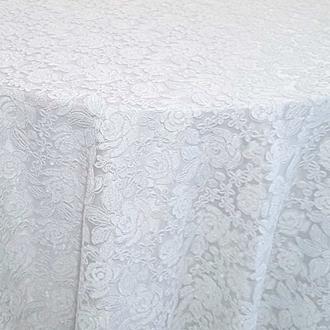 White Valentina Lace Overlay
