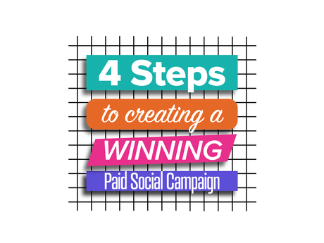 4 Steps to Creating a Winning Paid Social Campaign [Infographic]