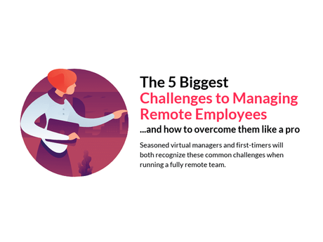 The 5 Biggest Challenges To Managing Remote Employees [Infographic]