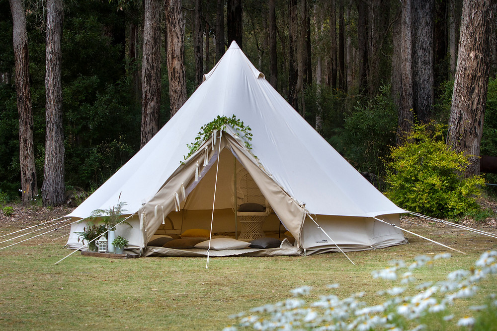 Bell tent, Blessingway, peacock chair