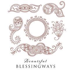 Blessingway henna design