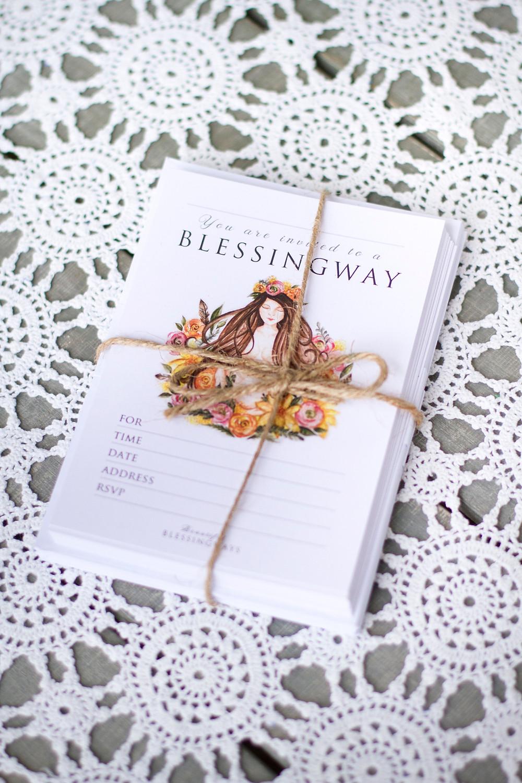 Blessingway invitation