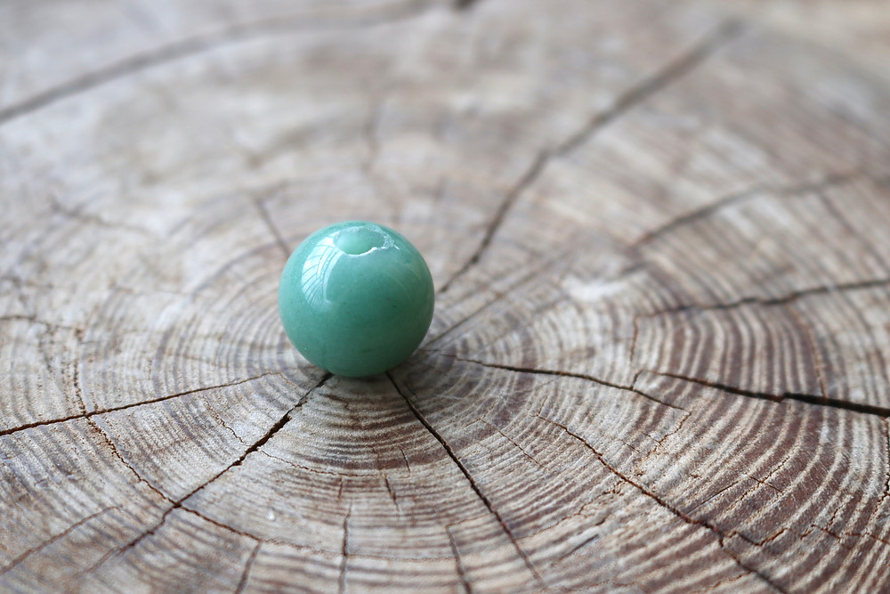 ADVENTURINE blessing bead