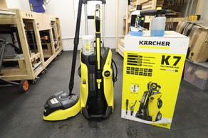 Karcher Pressure Washer K7 Full Control Plus Unboxing + Testing
