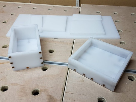 How to make HDPE moulds for resin casting?