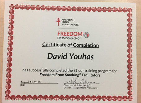 Freedom From Smoking Clinic Facilitator