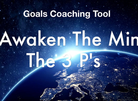 The 3 P's - Personal Clarity and Goals Coaching Tool