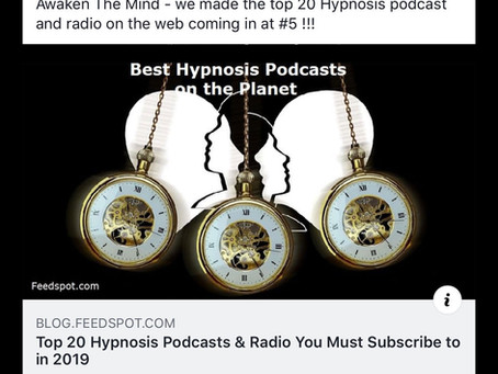 #5 Hypnosis Podcast On The Web Planet!!!