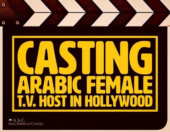 Arab Women Casting