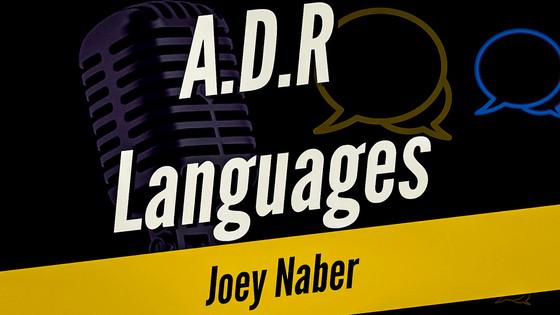 A.D.R Languages