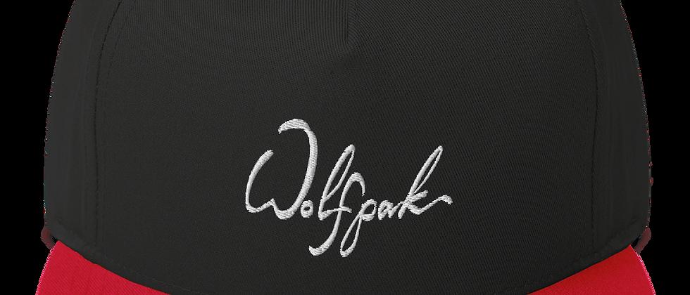 """WOLFPAK"" Flat Bill Cap"