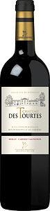 Château des Tourtes Cuvée Classique Rouge. Merlot en Cabernet Sauvignon uit Bordeaux. Rode wijn.