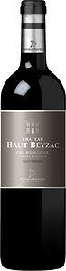 Château Haut Beyzac Cru Bourgeois. Merlot, Cabernet Sauvignon en Petit Verdot uit Bordeaux. Rode wijn.